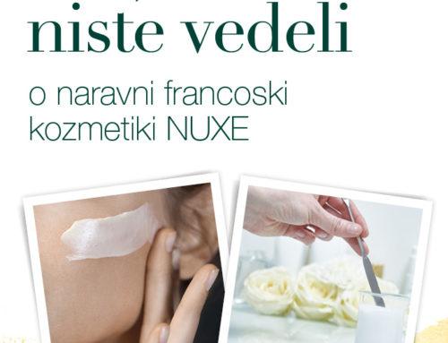 Vse, česar še niste vedeli o naravni francoski kozmetiki NUXE