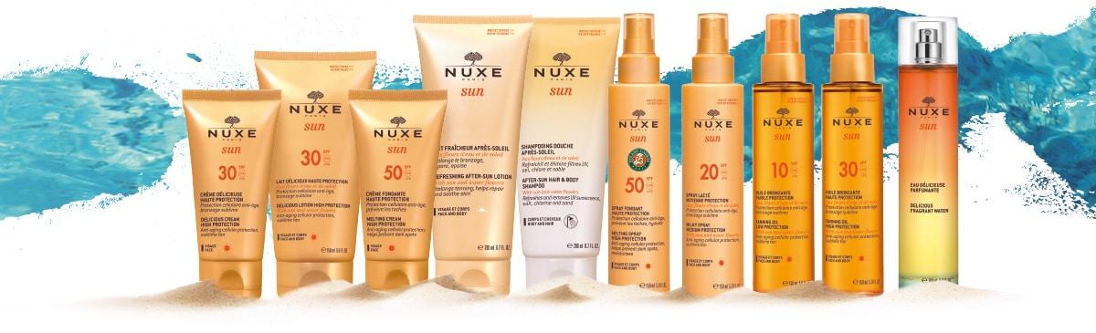 NUXE Sun - Idealna zaščita za brezskrbno uživanje na soncu